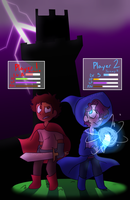 (BMC)It's A Two Player Game by GalaxyGal-11