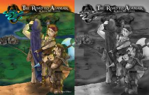 C6:Road to Azamar Cover by DragonPress