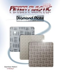 Diamond plate pattern for photoshop by PeterPlastic