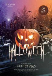 Halloween Flyer Template by styleWish
