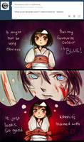 Noragami Ask Blog: Favourite Colour by gomimushi