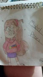 Mabel Pines (colored) by Smilecentaur