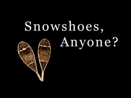 Snowshoes, Anyone? by pley