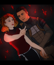 MEA: Stargazing {Ryder/Reyes} [Commission] by LadyTheirin