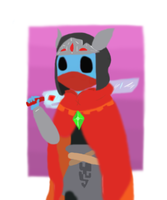 hyper light drifter (colored) by MimiKawaiiLove