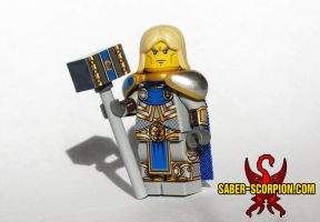 Custom Minifigure: Arthas Menethil by Saber-Scorpion