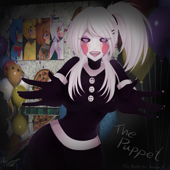 The Puppet - Five Nights In Anime 2  [SpeedPaint] by RenAyume