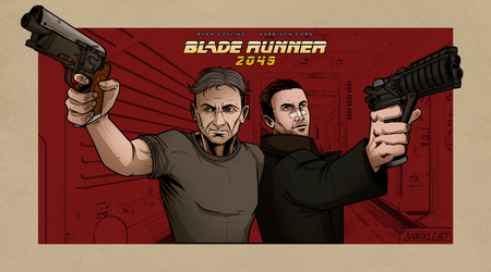 Blade Runner 2049 Fan poster by ShackleArt