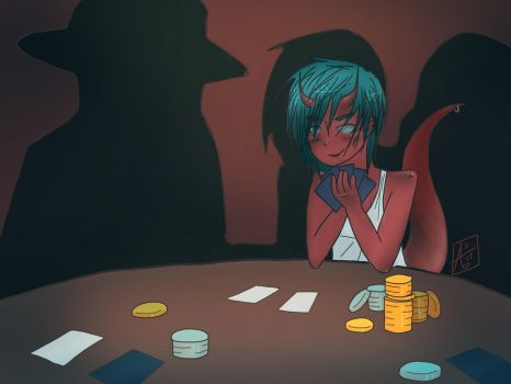 Vy the Gambler by nihon-no-sakura