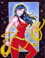 WONDER GIRL DONNA TROY by RODEL MARTIN (01092018)B by rodelsm21