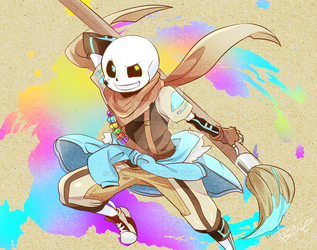 Ink!sans by kogane28