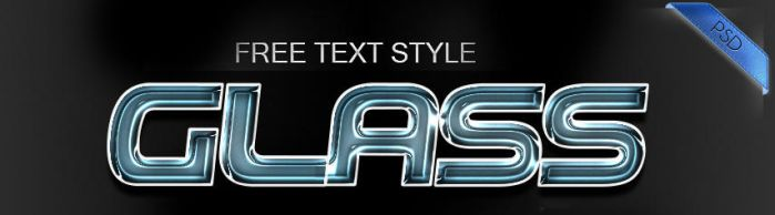 Real Glass Text Style by Welton-Arruda