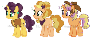 SOLD - Braesala - Pony Offer To Adopts by MonkFishyAdopts