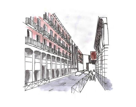Walking Madrid 1 by Lauvictoria