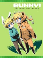 SP : Kenny and Butters 03 by sakurapanda
