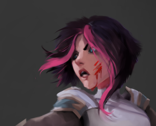 Fiora [League fanart] [in progress] by IroPagis