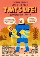 That's Life Exhibition by Teagle