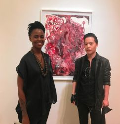 Michael Andrew Law meets with Wangechi Mutu by michaelandrewlaw