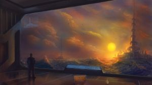 Living on the Ocean by danielwachter