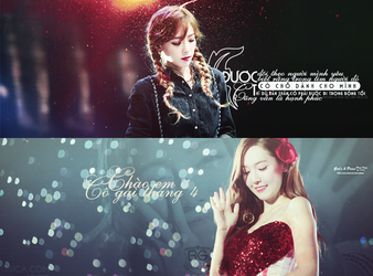 [Cover quotes] TaeYeon  Jessica by BanhGaoCuckoo
