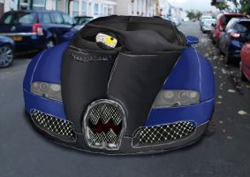 CB, ROC: Vladimir Veyron, Cars-style by TheOneVeyronian