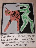 Schrodinger's Cat by Hannah-Needle