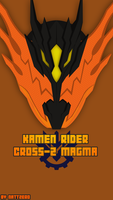 Kamen Rider Cross-Z Magma by Zeronatt1233