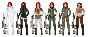 Jane's New Outfits by Adela555