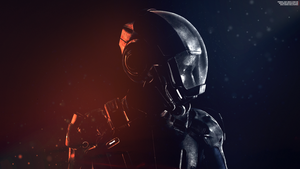 Silence - Mass Effect Andromeda Wallpapers 4K by RedLineR91