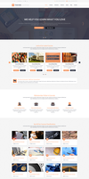 Coursaty Awesome PSD Template by begha