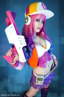 Arcade Miss Fortune - League of Legends by Kinpatsu-Cosplay