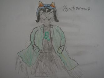 Nepeta is the cutest thing I ever s33n :3 by TheSaurus763