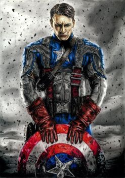 Captain America by Gatter87