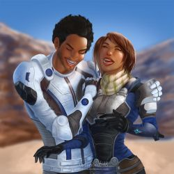 Commission: Ryder and Liam by TerinCat
