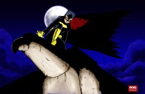 Batgirl Year One - Final Art by roelworks