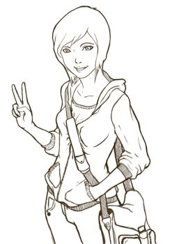 Any casual girl-ink by FreedomIsNow