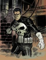 Punisher color by deankotz