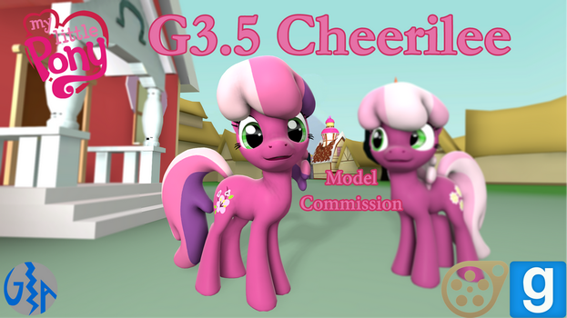 Cheerilee (MLP G3.5 SFM/GMod DL) Commission by GameAct3