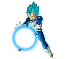 Vegeta SSJ Blue #6 by SaoDVD