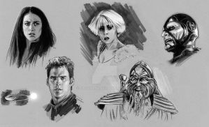 Farscape roughs grey by jasonpal