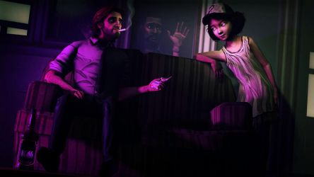 Bigby and Clementine - you wanna smoke ? by Egarshan