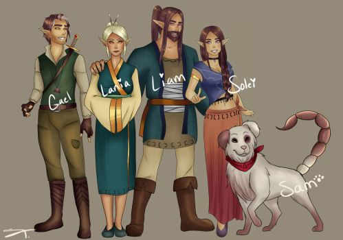 The Arthen's by Soleiana