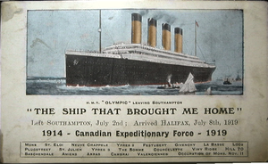 'The Ship That Brought Me Home' by RMS-OLYMPIC