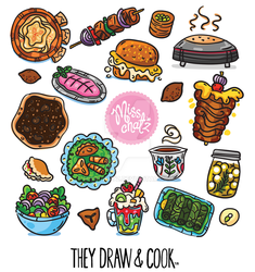MISSCHATS They Draw and Cook 2019 Post