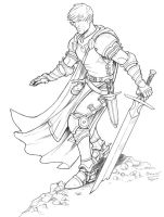 A Young Knight by staino