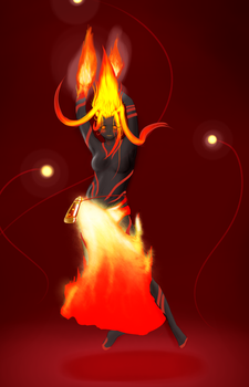 Pyros - Goddess of Fire, Beauty, and Freedom by Firgof