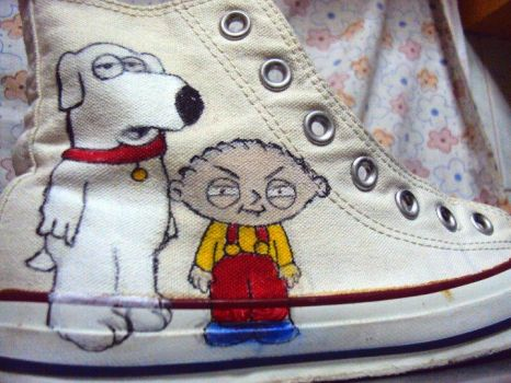 Brian and Stewie by jamBAGA