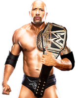 WWE The Rock With The NEW WWE Championship 2013 V2 by HTN4ever