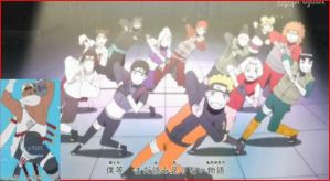 Dancing Naruto gang by Staceyk93