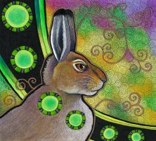 Mountain Hare as Totem by Ravenari